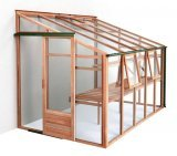 Growhouse 6ft Wide Cedar Lean-tos
