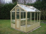 Swallow 6'-8 x 18'-10 Wooden Greenhouse