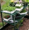 2 Tier Staging Forest Green