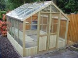 Swallow 8'-9 x 20'-10 Wooden Greenhouse