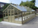 Swallow 13'-1 x 37'-9 Falcon Wooden Greenhouse