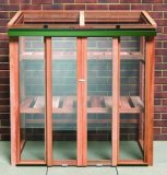 Growhouse Cedar Mini Greenhouse